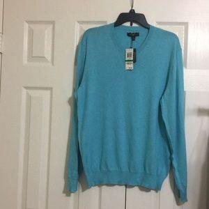 Brand new Club Room v neck men's sweater